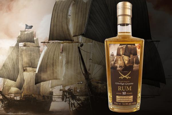 Guyana Rum (Uitvlugt Stills) - Pirat Label