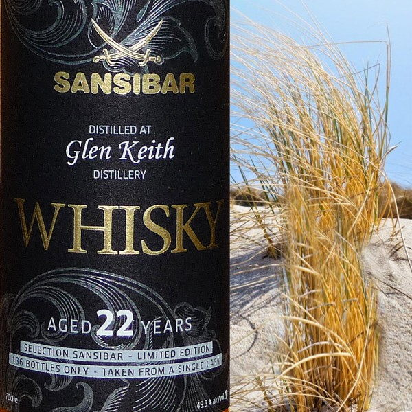 Glen Keith 22y - Sansibar Classic Label