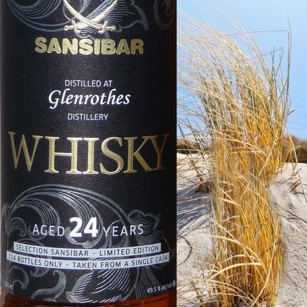 Glenrothes 24y - Sansibar Classic Label