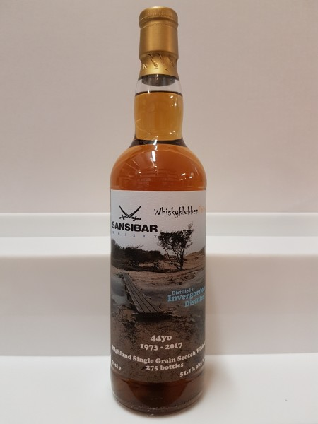 Invergordon 44y - Sansibar Whisky for Whiskyclubben Slainte