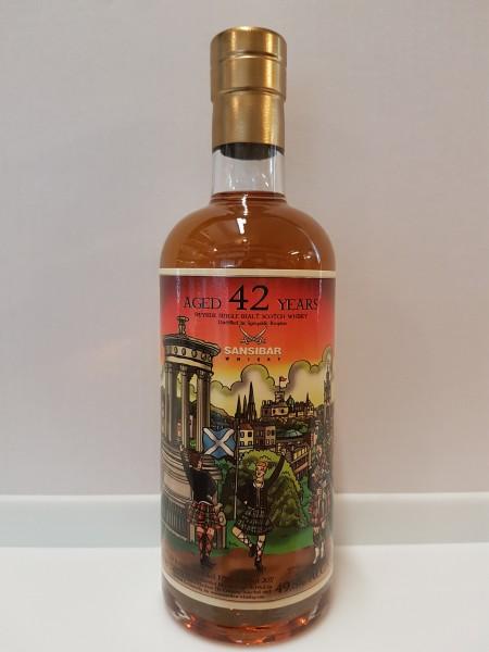 Speyside Region Malt 42y - Sansibar Whisky Fazzino Label