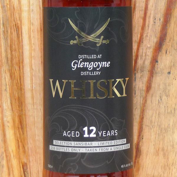 Glengoyne 12y - Sansibar Classic Label