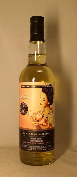 Islay Malt 8y - Sansibar Whisky for Dutch Whisky Association (Geisha Label)