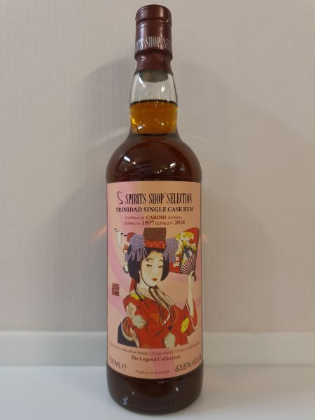 Trinidad Rum (Caroni Distillery) - S-Spirits Shop Selection