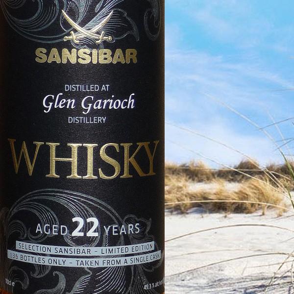 Glen Garioch 22y - Sansibar Classic Label