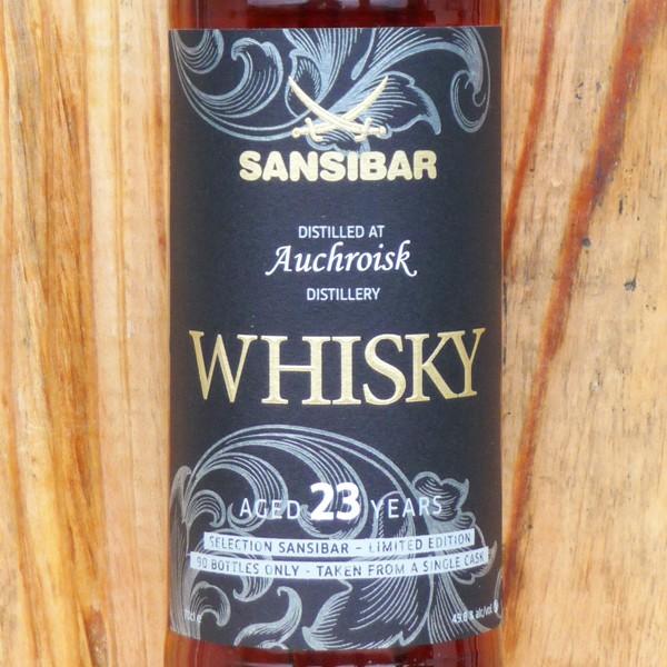Auchroisk 23y - Sansibar Classic Label