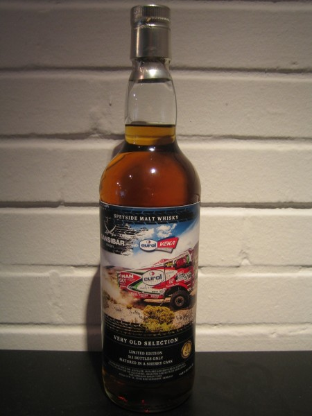 Speyside very old Selection - Rallye Dakar Label