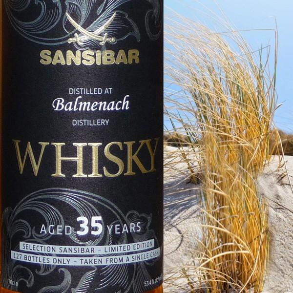 Balmenach 35y - Sansibar Classic Label