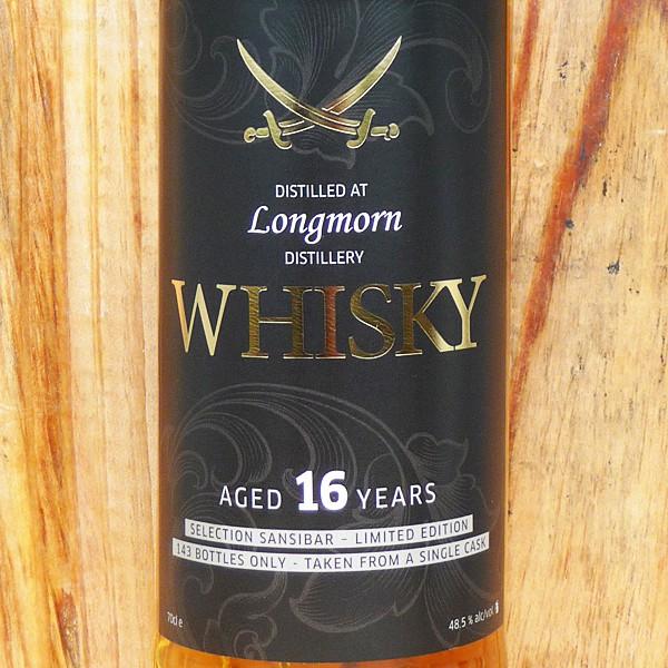 Longmorn 16y - Sansibar Classic Label