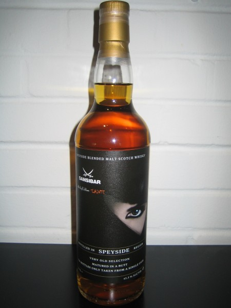 Speyside very old Selection - Sansibar Whisky for Whiskyclubben Slainthe