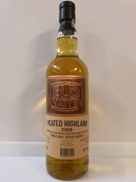 Peated Highland 14y - Eldvatten