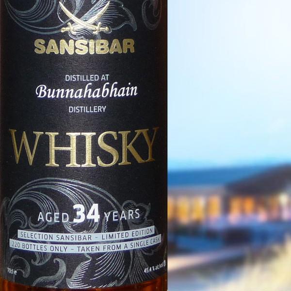Bunnahabhain 34y - Sansibar Classic Label